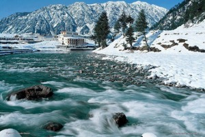 The Lovely Natural Beauty of Kallam Swat River, Pakistan